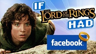 If Lord of the Rings Had Facebook