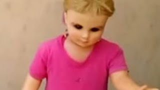 POSSESSED DOLL WALKS BY ITSELF IN MEXICO?  OCTOBER 8, 2015 (EXPLAINED)
