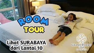 Senangnya Aqilla Dapat Kamar di Lantai 10 ♥ Room Tour Hotel Grand Darmo