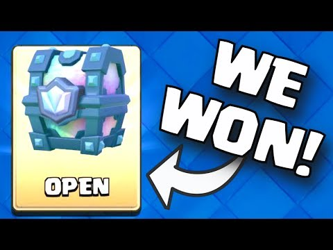 9 WIN 2V2 DOUBLE ELIXIR DRAFT CHALLENGE CHEST OPENING (1ST PLACE) Clash Royale FREE LEGENDARY CHEST