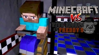 MINECRAFT VS. FIVE NIGHTS AT FREDDYS ANIMATION (REACTION)