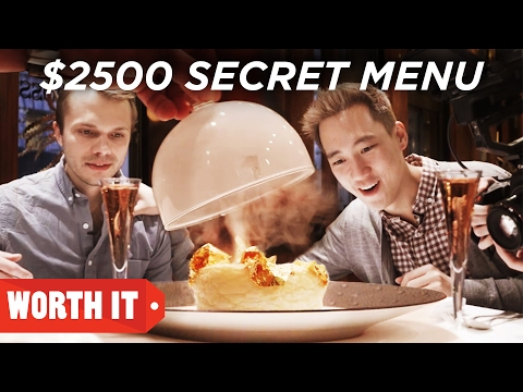 7 Secret Menu Vs. 2 500 Secret Menu