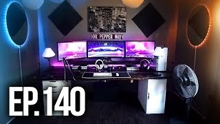 Room Tour Project 140 - BEST Gaming Setups!