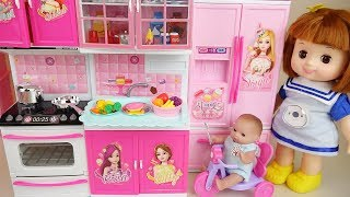 Baby doll Kitchen and cooking toys baby Doli play