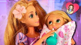 ❌ ¡La BEBÉ de RAPUNZEL HA DESAPARECIDO! ► 🌙 Novelas con muñecas y juguetes