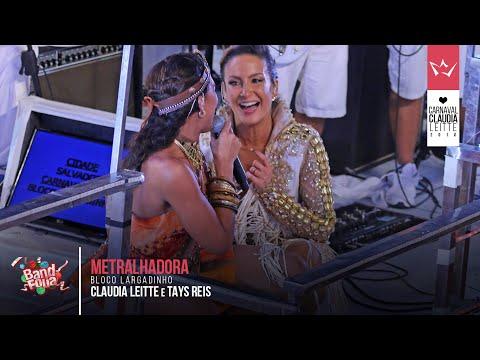 Metralhadora Claudia Leitte e Banda Vingadora Carnaval 2016 mundoleitte