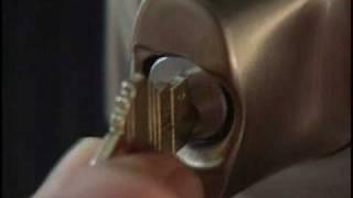 Mechanical Key Override for BE365 Keypad Deadbolt