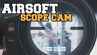 Airsoft Sniper Gameplay - Scope Cam  / ciber_boy Airsoft españa / TBA arena /20-6
