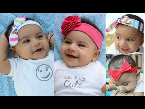 Xxx Mp4 Headbands For Babies And Toddlers From Old Clothes Tutorial 4 Cute Styles 3gp Sex