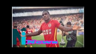 Chinese fans send Odion Ighalo best World Cup wishes with trophy