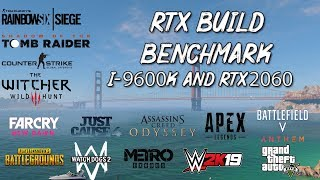 RTX 2060 Benchmark | 16 Games Tested in 1080p ( i5-9600k @3.7 GHZ ) - 1 Lakh Gaming Build