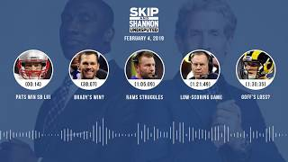 UNDISPUTED Audio Podcast (2.4.19) with Skip Bayless, Shannon Sharpe & Jenny Taft | UNDISPUTED