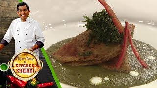 Sanjeev Kapoor Ke Kitchen Khiladi - Episode 56 - Gatta Steak With Spinach Gravy