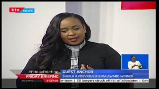 Friday Briefing: Guest Anchor: Sheila Mwanyigha 20/1/2017 Part 1