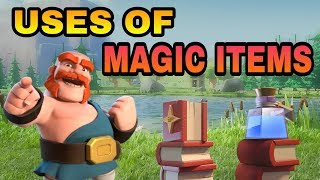 USES OF MAGIC ITEMS FROM CLAN GAMES REWARDS   COC CLAN GAMES UPDATE   CLASH OF CLANS