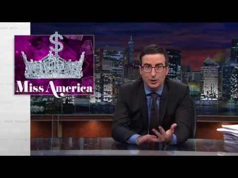 Miss America Pageant Last Week Tonight with John Oliver HBO