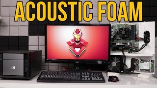 Why I made the switch to Acoustic Foam Panels - ArrowZoom