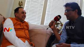 Dr. Subramanian Swamy Face to Face @ Cow Culture Conference 2018    NTV