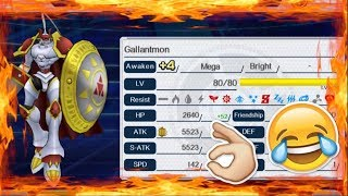 +4 Gallantmon With Gold Medal???? l Digimon Links