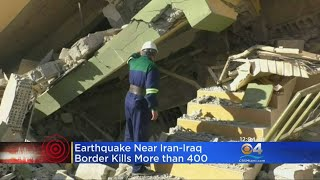 400+ Killed In Powerful Iran-Iraq Earthquake, Keeps Climbing