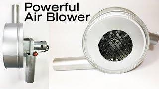 How to Make a Powerful Air Blower Using 775 Motor – DIY Air Blower