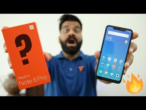 Xxx Mp4 Xiaomi Redmi Note 6 Pro Unboxing Amp First Look Same As Note 5 Pro 🔥🔥🔥 3gp Sex