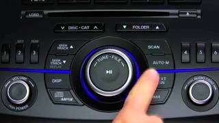 2013 Mazda3 Audio Control, Auxiliary and USB for the Standard Audio System Tutorial
