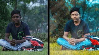 Low Light Outdoor photo Color Correction | Photoshop Tutorial