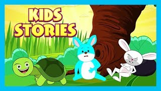 KIDS STORIES - Peter Rabbit and The Hare & The Tortoise - KIDS HUT STORYTELLING