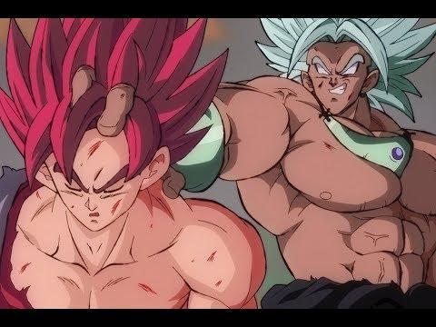Evil Goku vs. Broly
