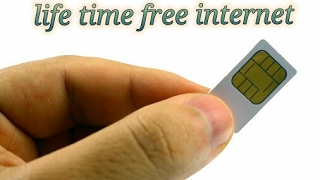 Free internet for life time all simcard no data charges 2017