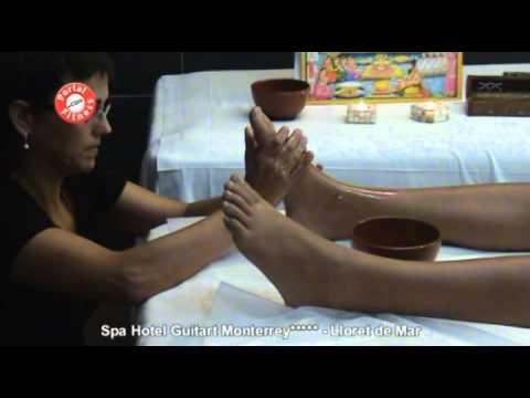 Demostración de Masaje de Terapia Ayurveda. Parte I