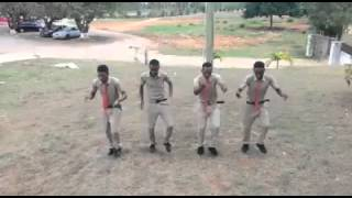 Jamaican High School boys dancing