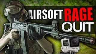 Airsoft RAGE | Throwing One of My Cameras - Airsoft Fail