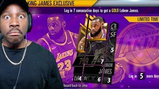 FREE LEBRON JAMES, 2K LOW CAM, DUNK DRILL & MORE! NBA 2K Mobile Gameplay Ep. 10