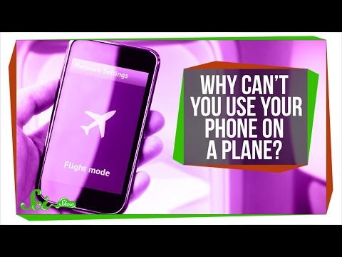 Why Can t You Use Your Phone on a Plane
