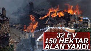 Köylülerin Evine Ateş Düştü