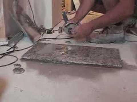 Perforar con radial granito drill granite