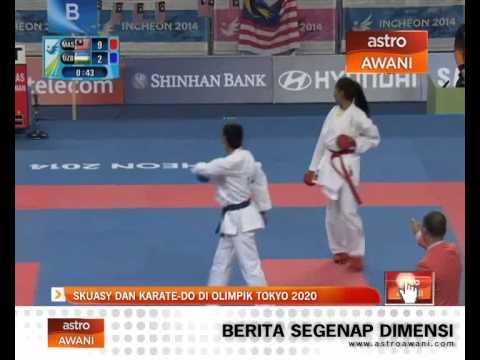 Skuasy dan karate-do di Olimpik Tokyo 2020