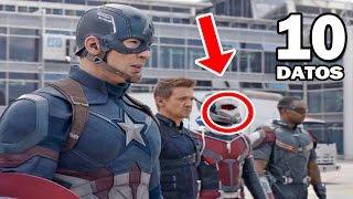 10 Curiosidades Sobre Capitán América: Civil War