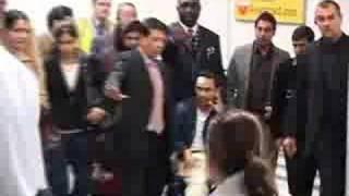 Tareq Zia Arrives in London 02