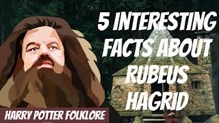 5 Interesting Facts About Rubeus Hagrid