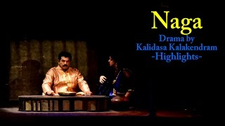 Mukesh And Wife Methil Devika Perform At 'Naga' Drama - Highlights