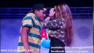 Mocha Babe Heart Kiss