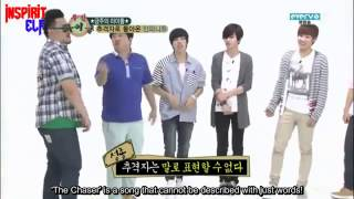 [ENG SUB] 120613 Weekly Idol Infinite part 1