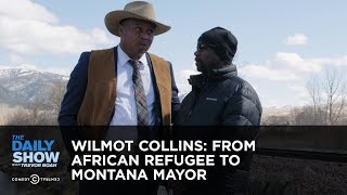 Wilmot Collins: From African Refugee to Montana Mayor   The Daily Show