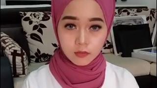 Hijab stail tutorial shawl simple like hanis zalikha