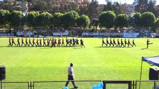 Banda Domingo Herrera Rivera B-13 2015 competencia Santa Julia