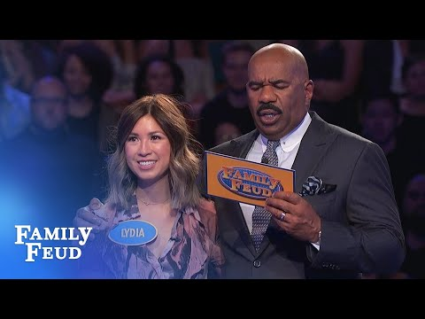 199 points With ONE ANSWER left Family Feud