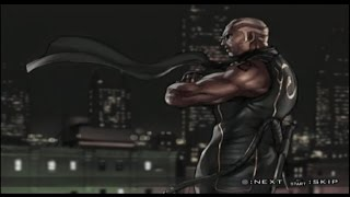 Tekken 5 Raven story mode gameplay